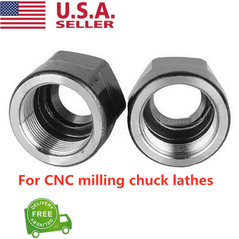 1PCS Collet Clamp ER11A Type M14*0.75 Steel Clamp Nut For CNC Milling Chuck Hold